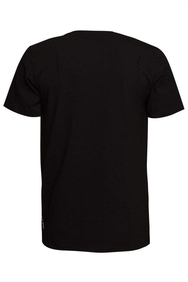 RED PLAYER T-SHIRT BLACK